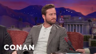 Armie Hammer Is No Halle Berry  - CONAN on TBS