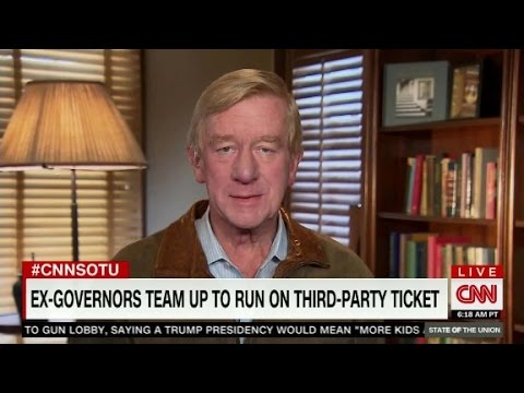 """Bill Weld sees Libertarians appealing to """"40-plus pe..."""