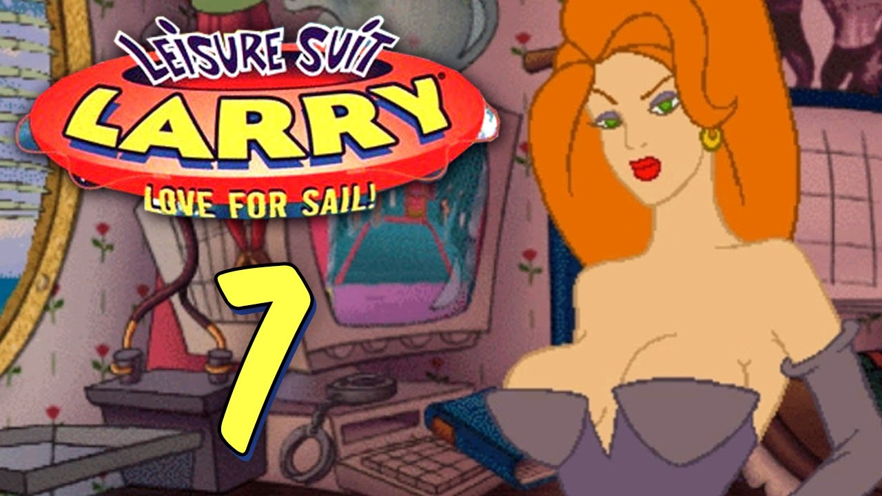Leisure Suit Larry Love For Sail Vicky Let's Play Leisure Sui...