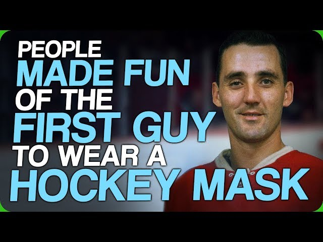 People Made Fun of The First Guy to Wear a Hockey Mask (Improving Sports)