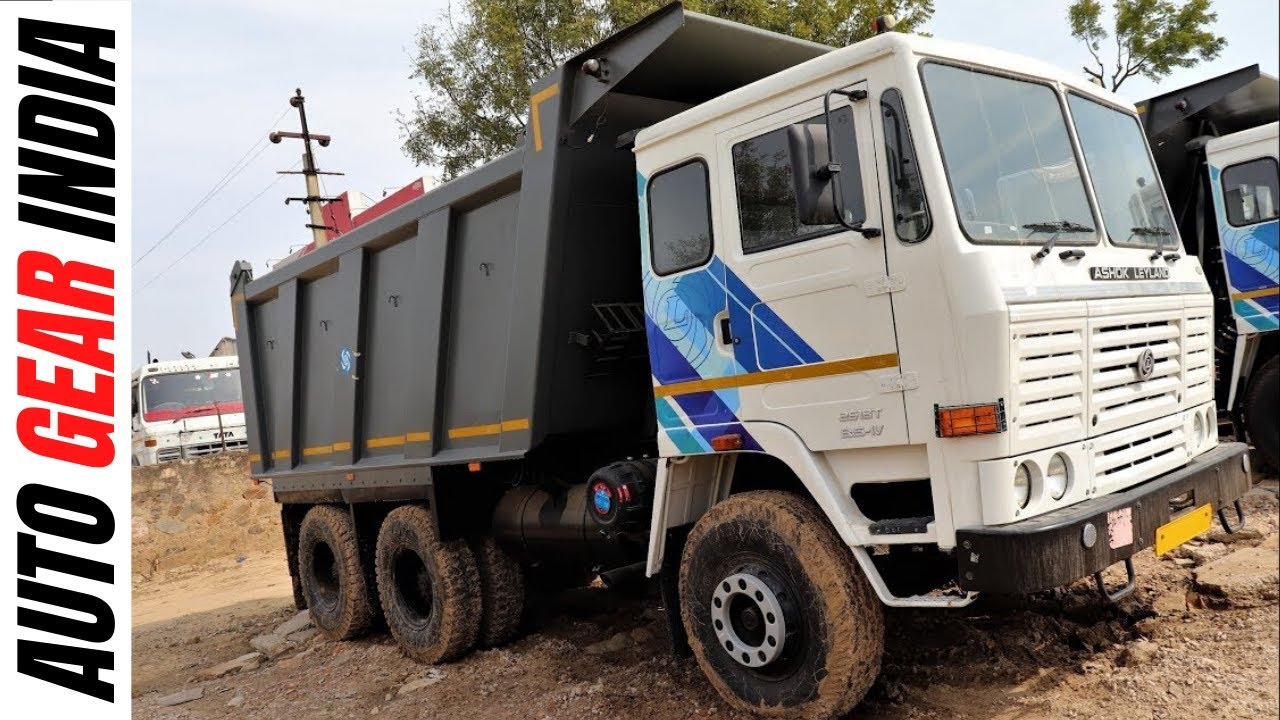 Ashok Leyland 2518T (2019) Tipper Review in Hindi By #autogearindia