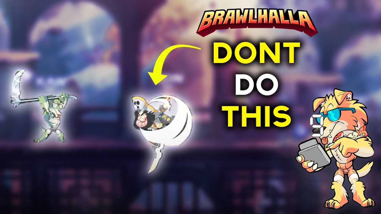 Why you NEVER SPOT DODGE against a Mordex... - Brawlhalla twitch highlights # 123
