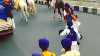 Putt tere sahib kaure Nihang singh chkar dumaleya vale , nagr kirtan