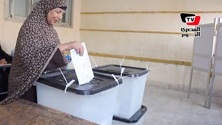 المرحلة الثانية من الانتخابات البرلمانية  بدء الاقتراع فى لجنة «أبو بكر الصديق» بالمطرية