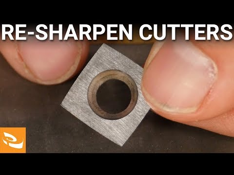 Sharpening Carbide Cutters (Woodturning How-to)