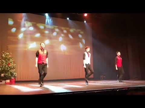 Brilliant Choreography & Stunning Irish Dancing to a Christmas Classic