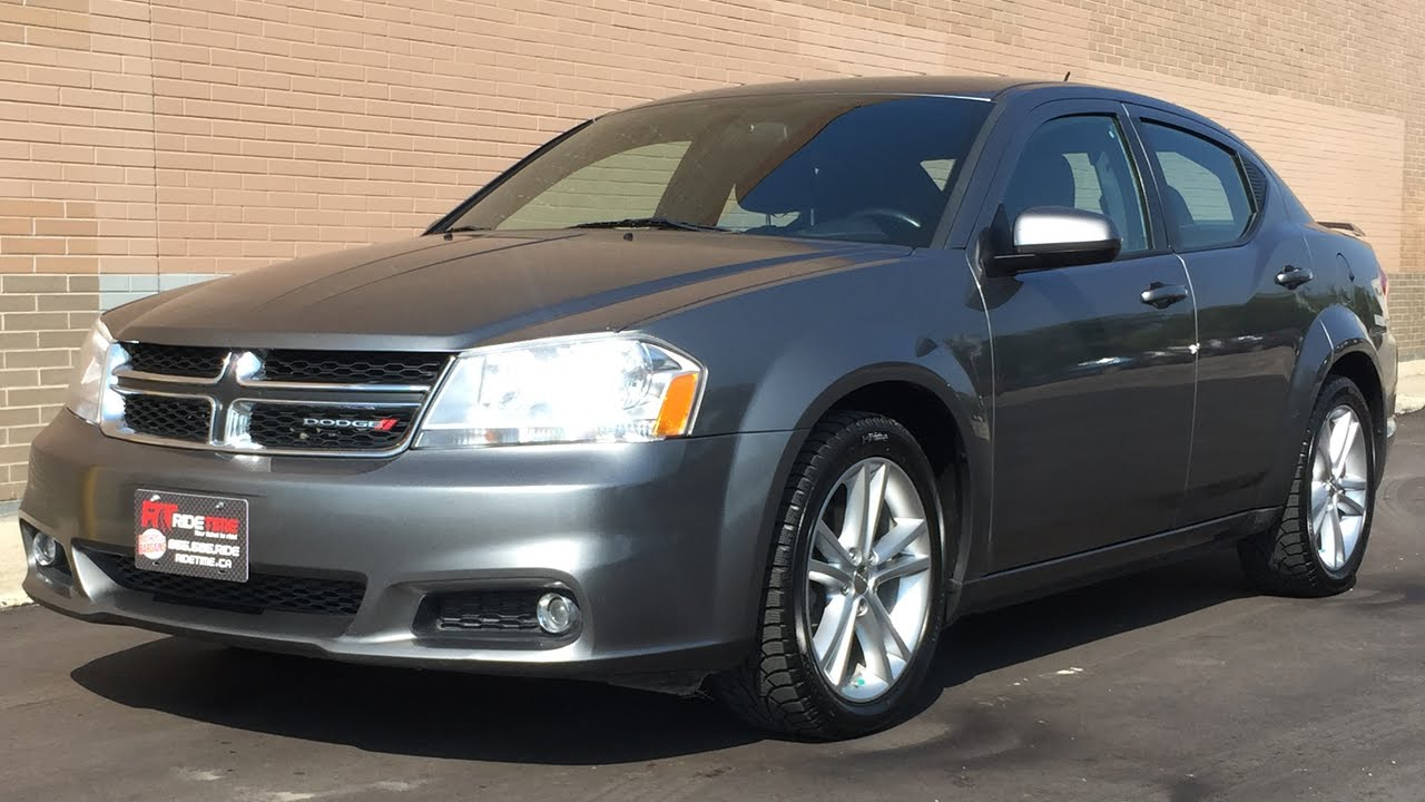 2012 Dodge Avenger SXT  Fog Lights Satellite Radio Power