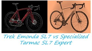 TREK EMONDA SL 7 Vs SPECIALIZED TARMAC SL 7 Expert (2021) | Buyer's Guide By Cycling Insider