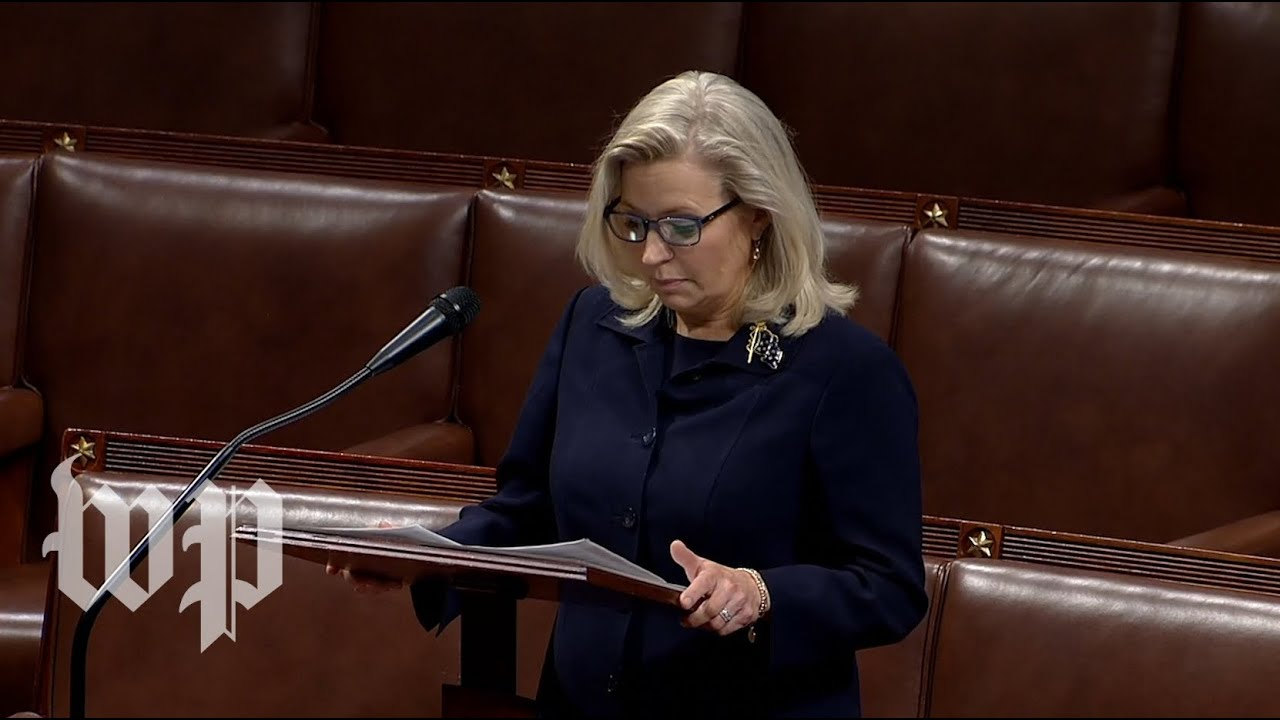 Rep. Liz Cheney speaks out ahead of vote to oust her: 'Our election was not stolen'