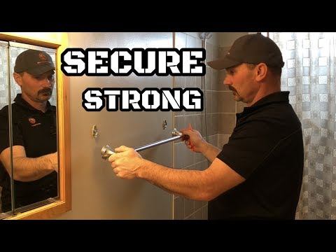 How To Install A Towel Bar In Drywall
