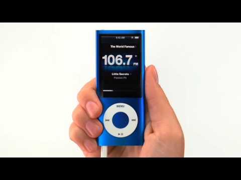 iPod nano FM Radio and Live Pause - YouTube