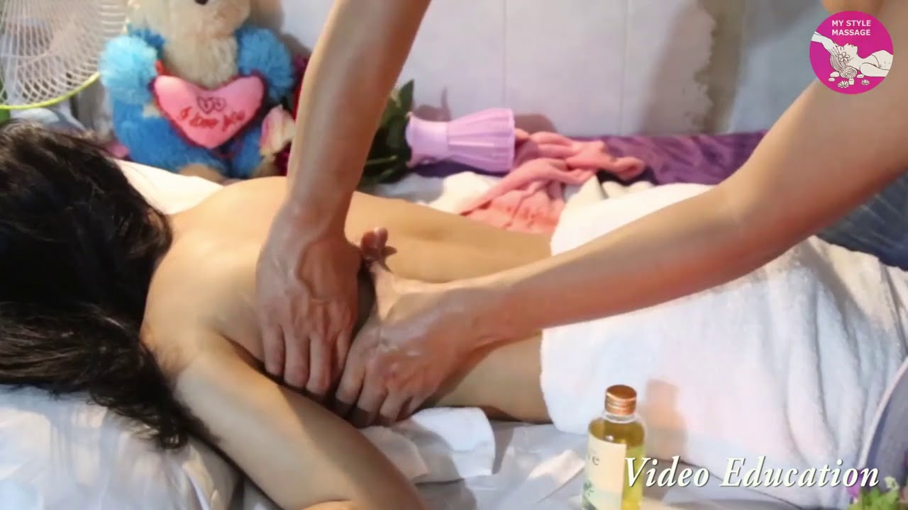 Traditional oil massage my style #3 - YouTube
