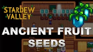 Stardew Valley 1.1 Tips: How to get Ancient Fruit Seeds