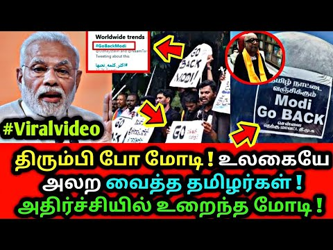 திரும்பி போ ! உலகையே திரும்பிப் பார்க்க வைத்த தமிழர்கள் ! Modi, Cauvery board, Tamil news live