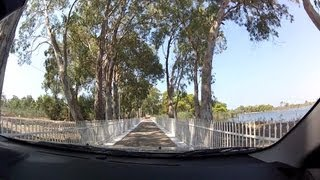 Lappas to Kaiafas Thermal Springs and Lake (highway driving, Greek National Road 9) - onboard camera