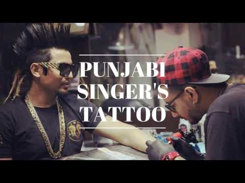 Punjabi Singers Tattoo  jazzy B  7 Tattoo   Garry Sandhu   Akay   Sukhe  