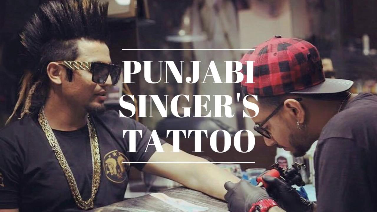 punjabi singers tattoo |jazzy b| 7 tattoo | garry sandhu ...