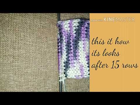 Circular Knitting With Two Needles