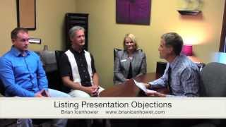 Overcoming Listing Presentation Objections