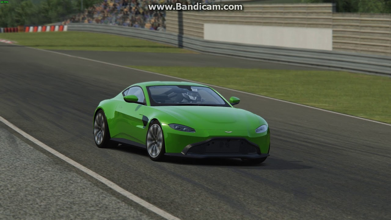 Assetto Corsa Aston Martin Vantage 2018 Youtube
