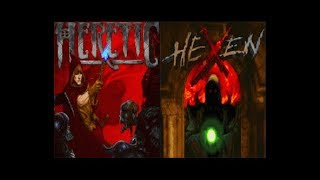Heretic and Hexen gameplay -  Intro