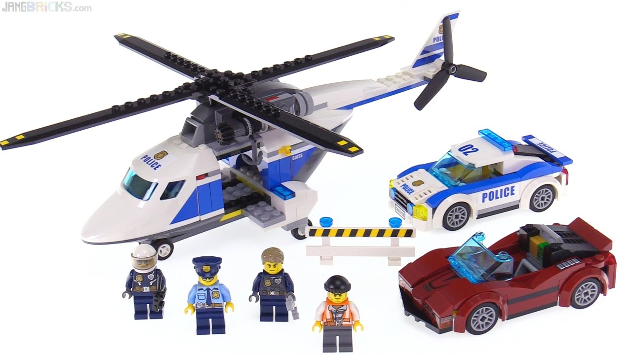 Lego City 2017 High Speed Chase Review 60138 Youtube