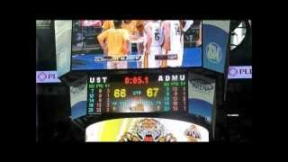 091512 - 2012 UAAP - The Ateneo versus UST Round II