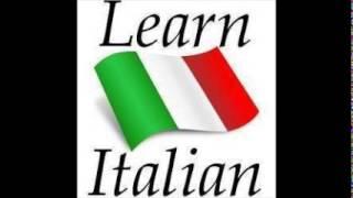 ★ LEARN ITALIAN IN FEW STEPS ★ (part 1)