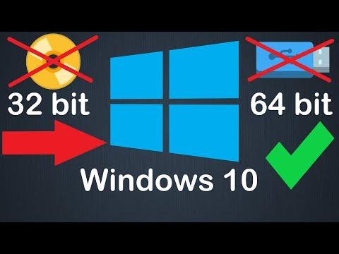 Как перейти с 32 Bit на 64 Bit Windows 10 без флешки или диска и без потери данных