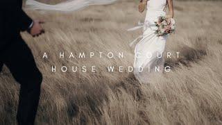 A Hampton Court House Wedding