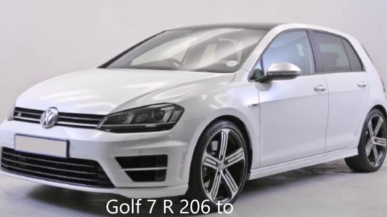 Golf 7 R specs and Launch control