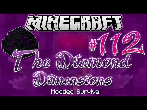 """DRAGON EGG FOUNTAIN"" | Diamond Dimensions Modded Survival #112 | Minecraft"