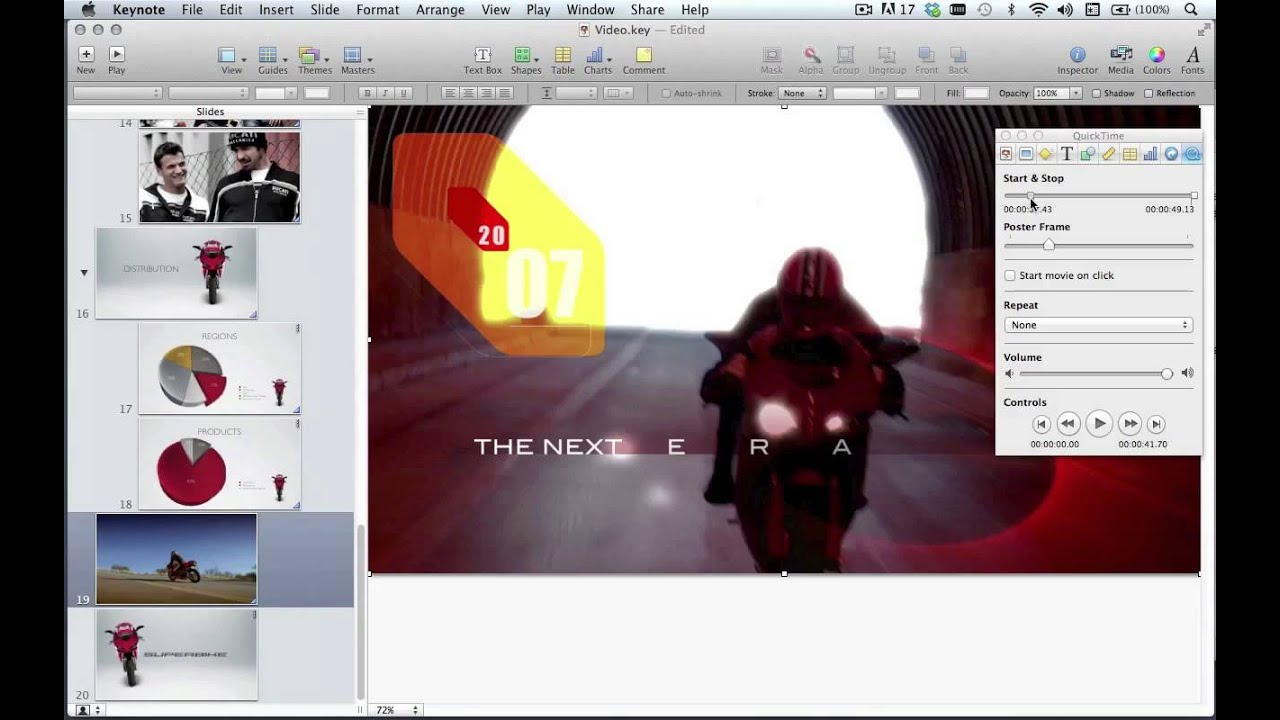 Apple Keynote: Adding Video To A Presentation  Digital Classroom 20161117
