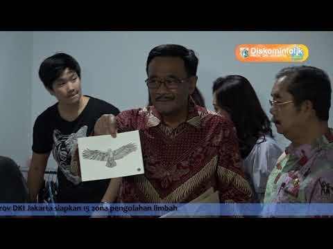 14 Juli 2017 Gub Djarot S. Hidayat Kunjungan ke Jakarta Creative Hub