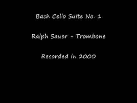 Ralph Sauer Performs Bach Cello Suite No.1