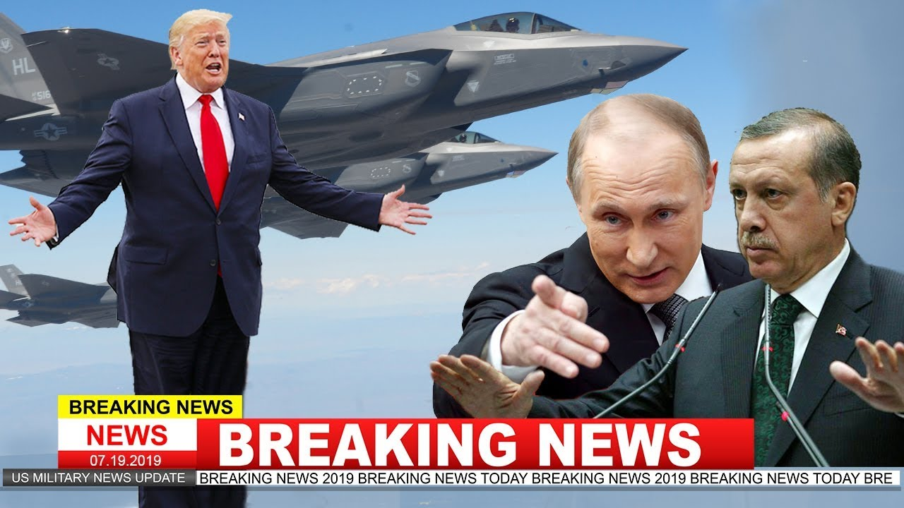 Trump: turkey not getting f-35 stealth fighter jet after buying russian s-400