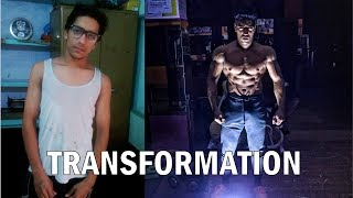 Rohit Khatri | 4 Year Body Transformation (18-22) | Skinny to Aesthetic transformation