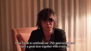 Message from INORAN toward 25th ANNIVERSARY