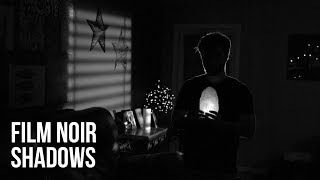 "Create Custom ""Film Noir"" Shadows 
