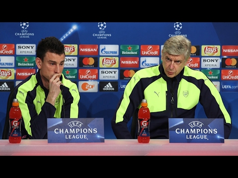 Arsene Wenger & Laurent Koscielny Full Pre-Match Press Conference - Bayern Munich v Arsenal