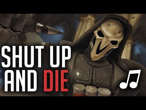 Overwatch Song  Shut Up and Die Rihanna  Shut Up and Drive PARODY ♪