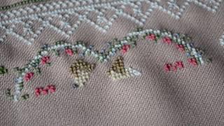 Свадебная метрика   Отчёт Вышивка крестиком   Вышивает мама Татьяна