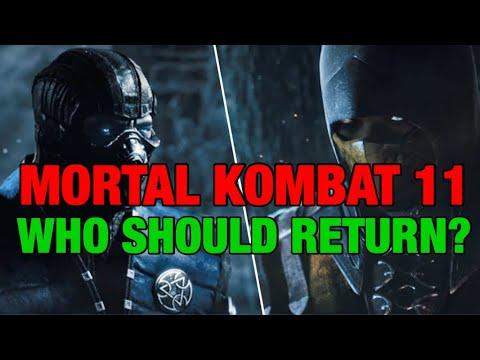 MORTAL KOMBAT 11: WHICH CHARACTERS SHOULD RETURN? / Mk 11 leaks / Mortal Kombat 11 2019