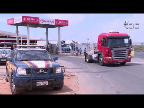 TBC Noticias Quarta Feira 18 de Outubro_Operação contra Empresas de Transportes