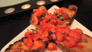 Bruschetta In Less Than 30 Seconds From Yummeo