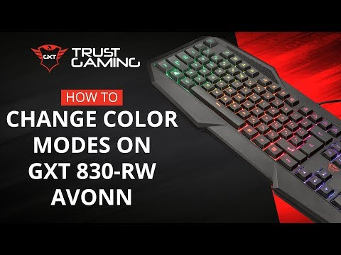 Trust com - GXT 830-RW Avonn Gaming Keyboard