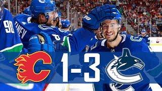 Canucks vs Flames | Pre Season | Highlights (Sept. 28, 2017) [HD]