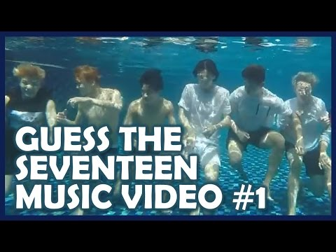 Kpop Quiz: Guess the SEVENTEEN Music Video #1
