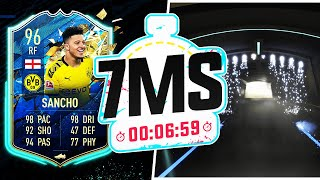 4X TOTS PACKED! 96 TEAM OF THE SEASON SANCHO 7 MINUTE SQUAD BUILDER - FIFA 20 ULTIMATE TEAM