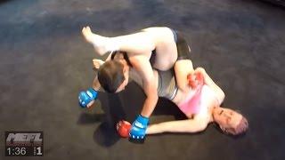 Anngelle Grant vs Jess Larson 110lb Women's MMA Bout